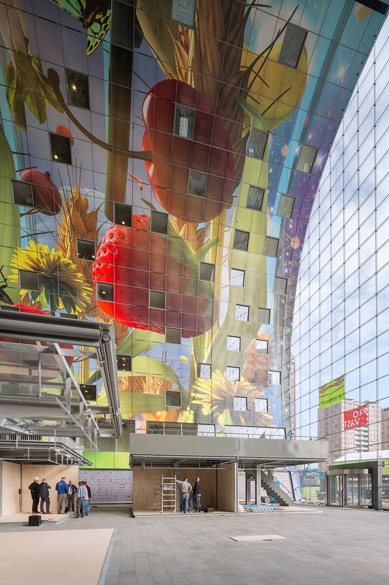 Markthal, o impressionante mercado de Roterdã
