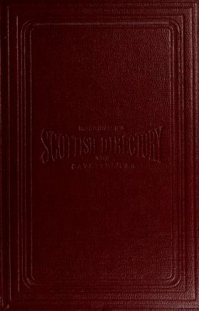 Cover of: Macdonald's Scottish directory and gazetteer |